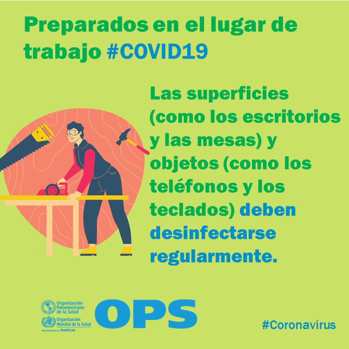 Preparados en el lugar de trabajo COVID-19