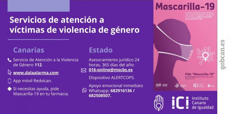 Servicios de atención a víctimas de violencia de género