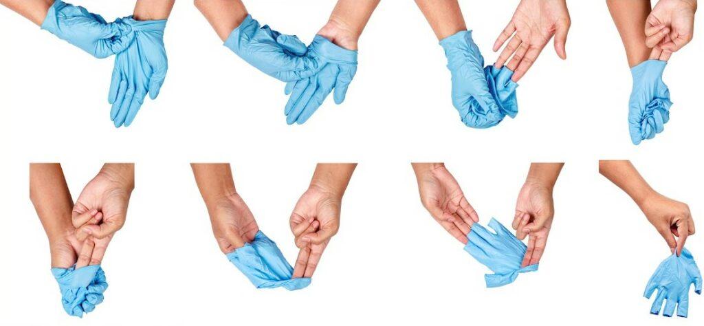 Cómo quitarte los guantes