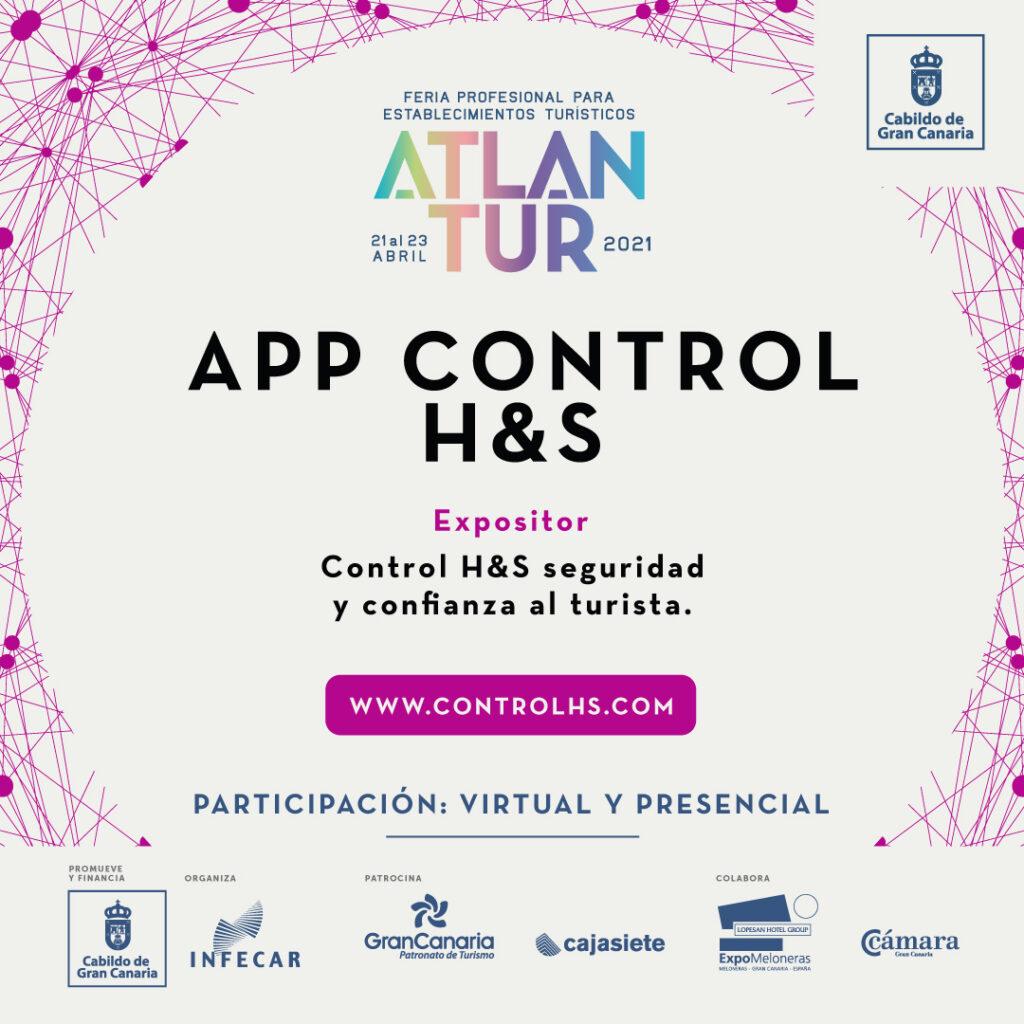 ATLATUR 2021 app Control H&S: seguridad y confianza al turista.
