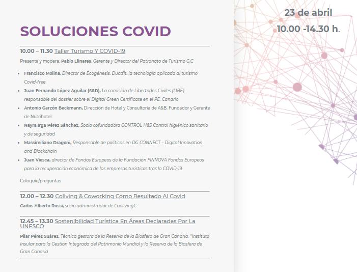 Soluciones COVID  Taller Turismo y COVID-19